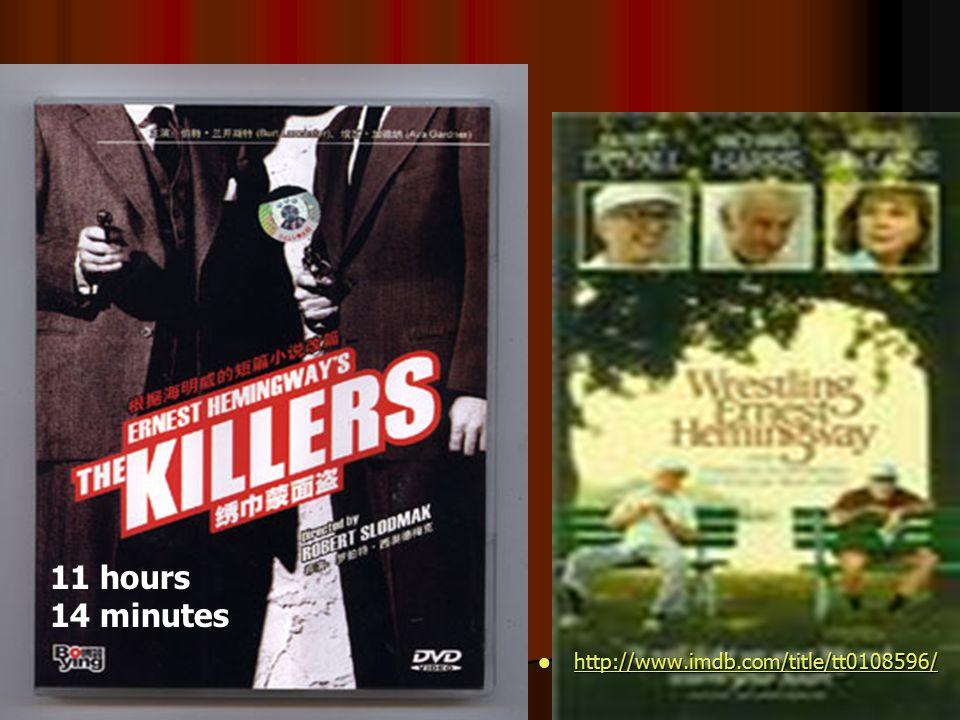 11 hours 14 minutes http://www.imdb.com/title/tt0108596/ http://www.imdb.com/title/tt0108596/ http://www.imdb.com/title/tt0108596/