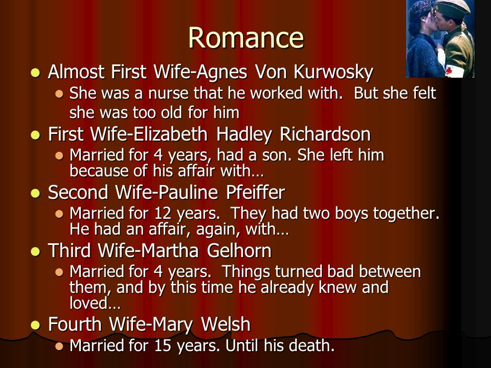 Romance Almost First Wife-Agnes Von Kurwosky Almost First Wife-Agnes Von Kurwosky She was a nurse that he worked with. But she felt She was a nurse th