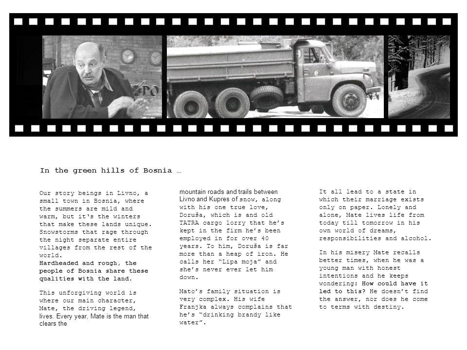 AUTHORS Director:Tomislav Žaja… Duh babe Ilonke, Alma Mahler (TV), 30 documentary movies Screenwriter:Ivica Perković CAST NikoStipe Erceg… Die fetten Jahre sind vorbei, Der Baader-Meinhof-Komplex KarinCosma Shiva Hagen… 7 Zwerge, Der Bibelcode (TV) AlbertRainer Hunold… Ein Fall für zwei (TV), Der Staatsanwalt (TV) MargharetePetra Blossey… Unter uns (TV) MateMustafa Nadarević… Otac na službenom putu, Ničija zemlja, Nafaka FranjkaVlasta Knezović… Povratak AnteGoran Navojec… Duga mračna noć, Dva igrača s klupe MarijaZrinka Cvitešić… Konjanik, Što je muškarac bez brkova.
