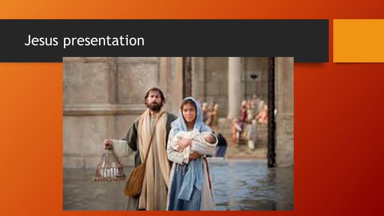 Jesus presentation