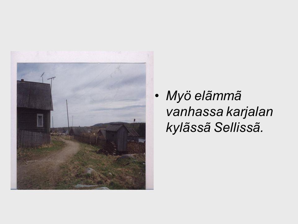 Myö elãmmã vanhassa karjalan kylãssã Sellissã.