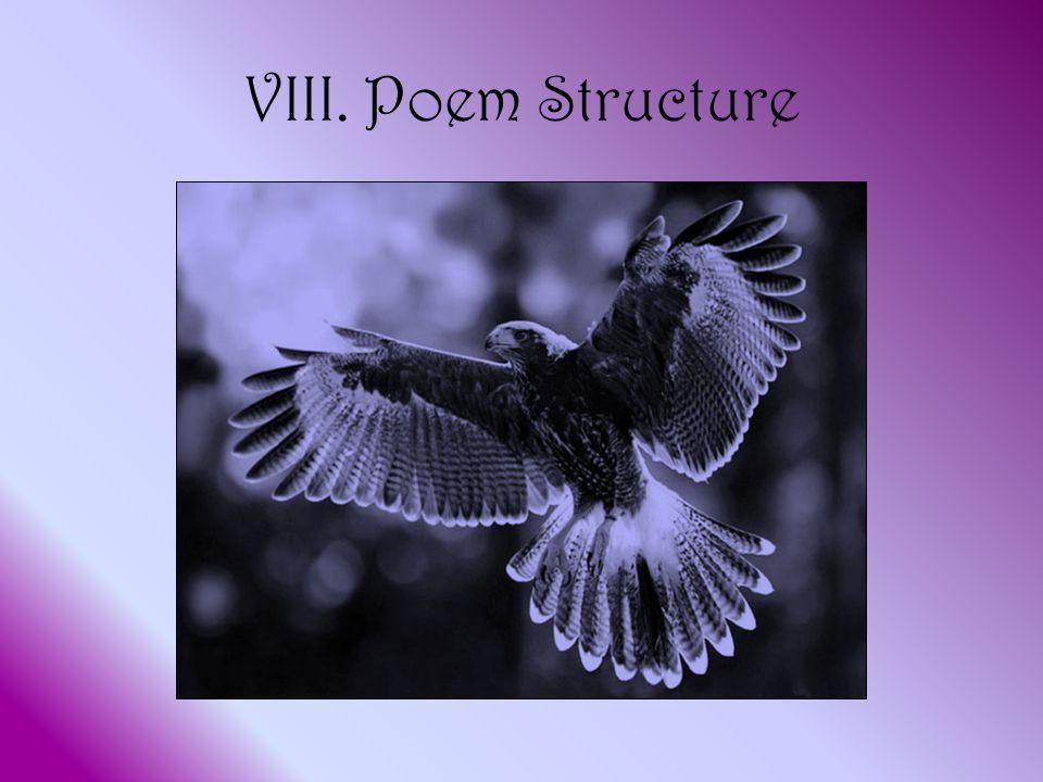 VIII. Poem Structure