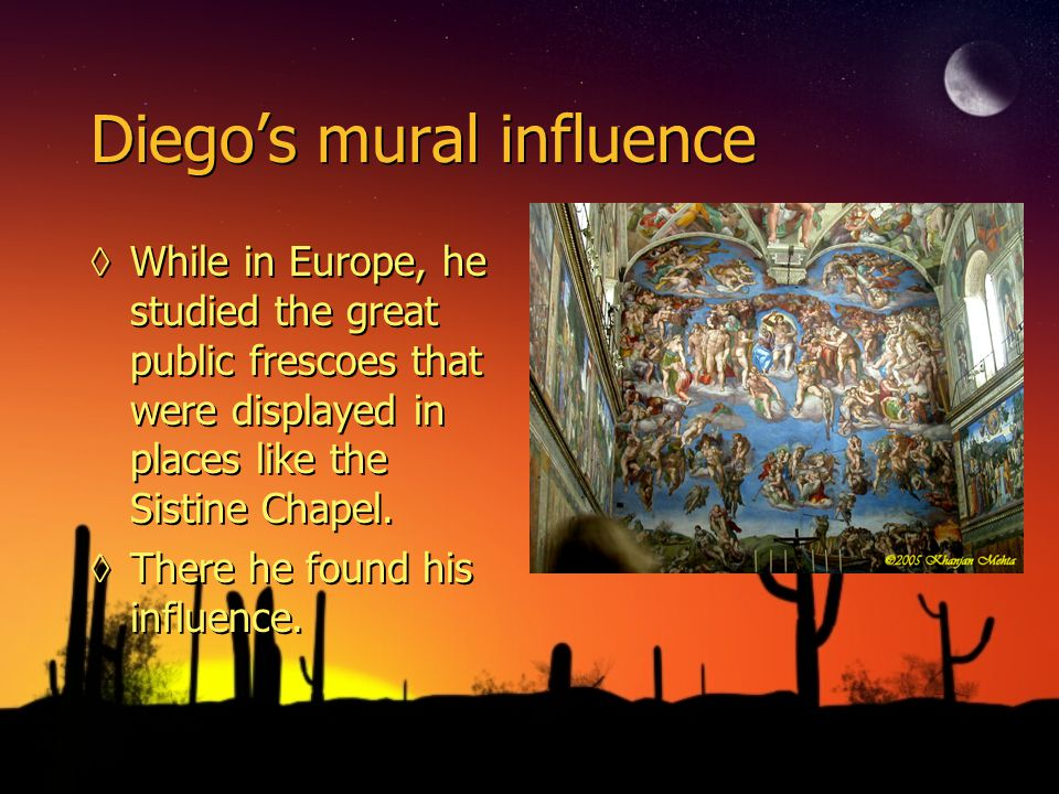 Diego Rivera, in Europe…. ◊Lived in Spain from 1907-1909, then moved to Paris, France.