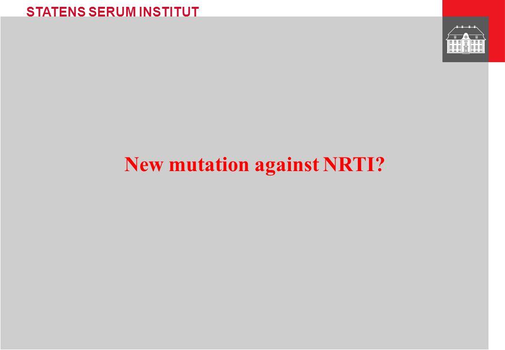 STATENS SERUM INSTITUT Transmission 1991 1994 2001 9/2-2000 14/7-1999 14/1-2002 Analysed