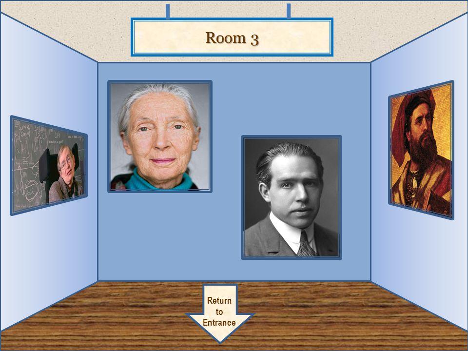 Room 3 Return to Entrance