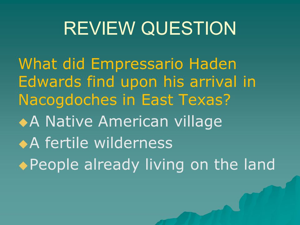 answer   It abolished slavery in Mexico, but not in Texas