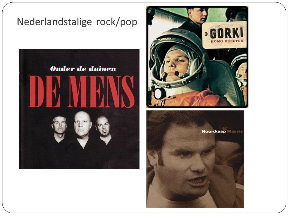 Nederlandstalige rock/pop