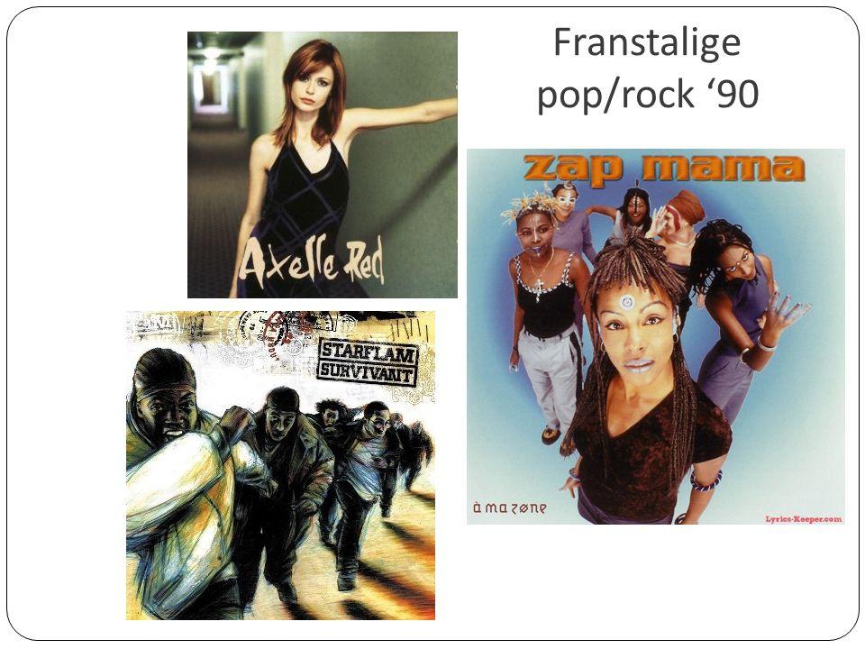 Franstalige pop/rock '90