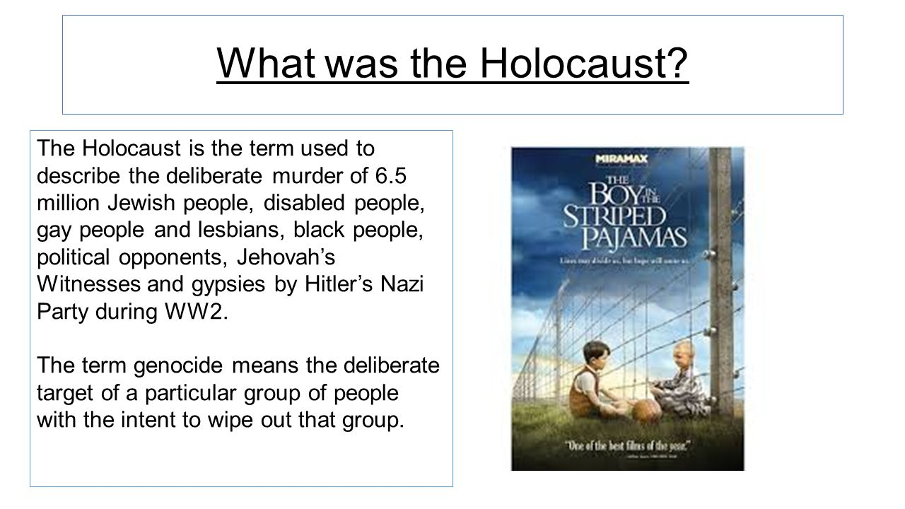 What was the Holocaust.
