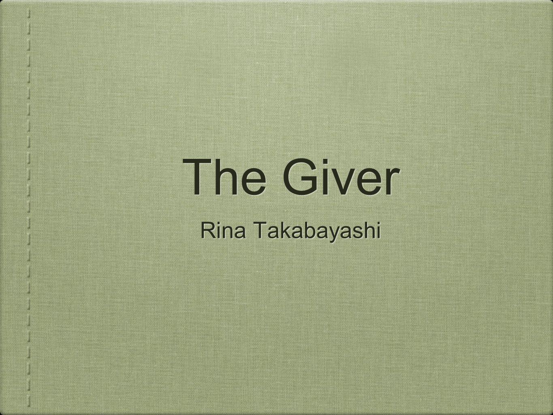 The Giver Rina Takabayashi