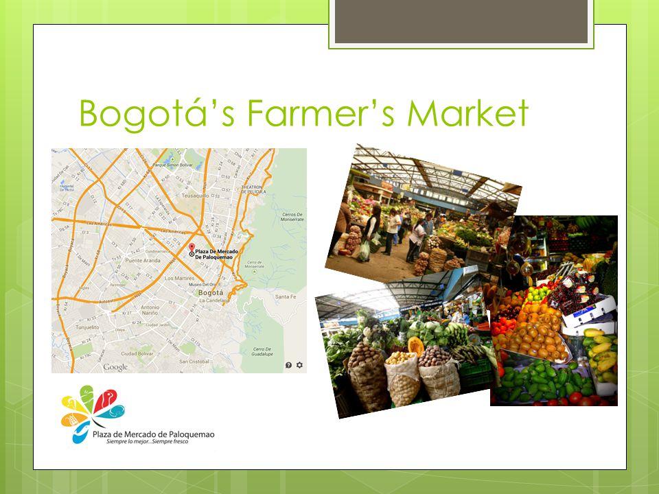 Bogotá's Farmer's Market