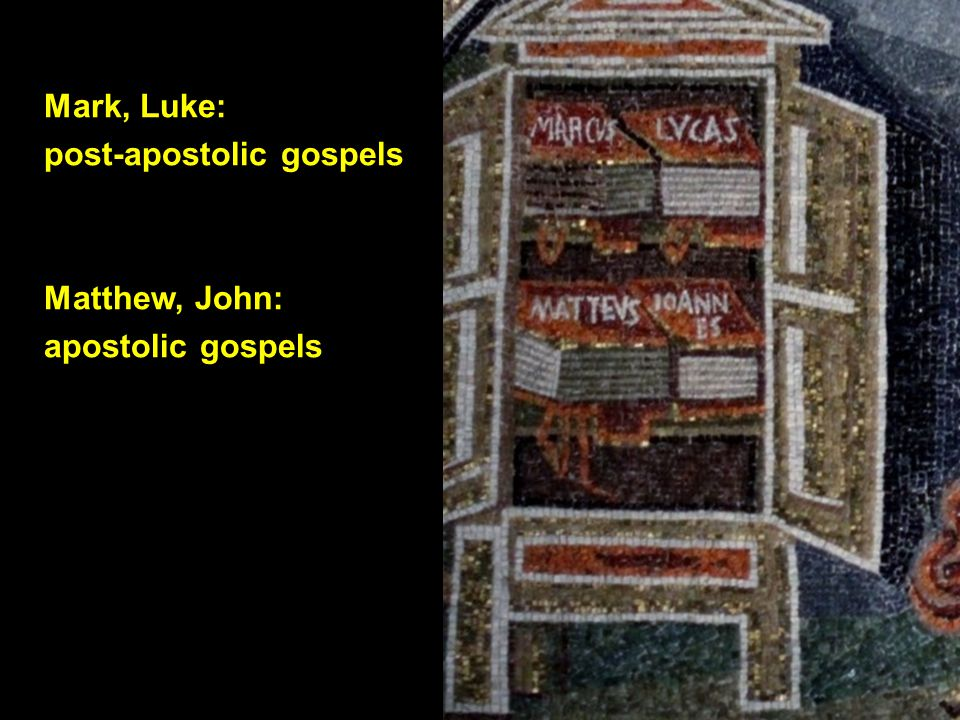Gospel of Matthew (end) Garima Gospels, 1 (Ethiopia, 6th century) Gospel of Mark (beginning)