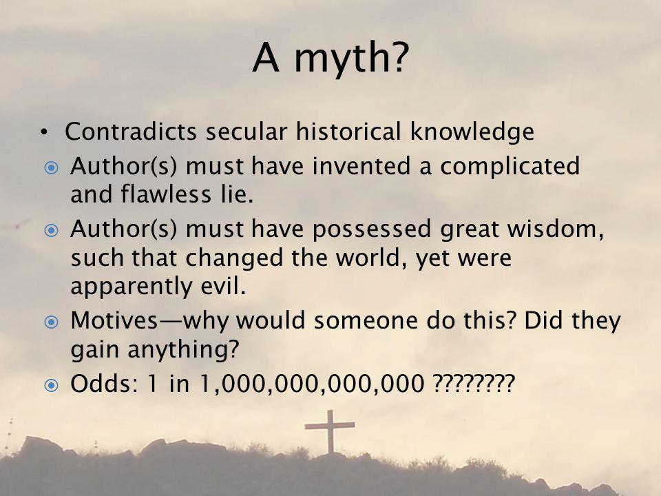A myth.