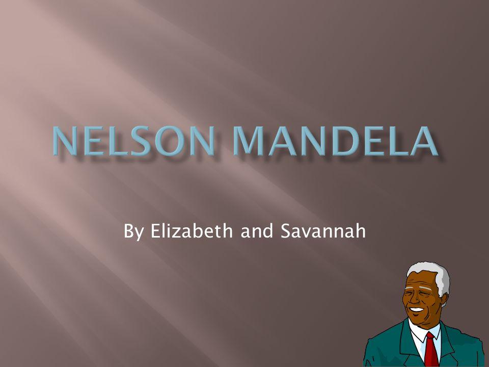 By Elizabeth and Savannah