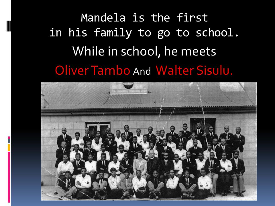 1988 Mandela is diagnosed with tuberculosis and is moved to Victor Verster Prison