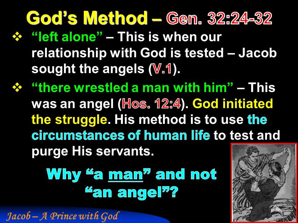 Jacob – A Prince with God