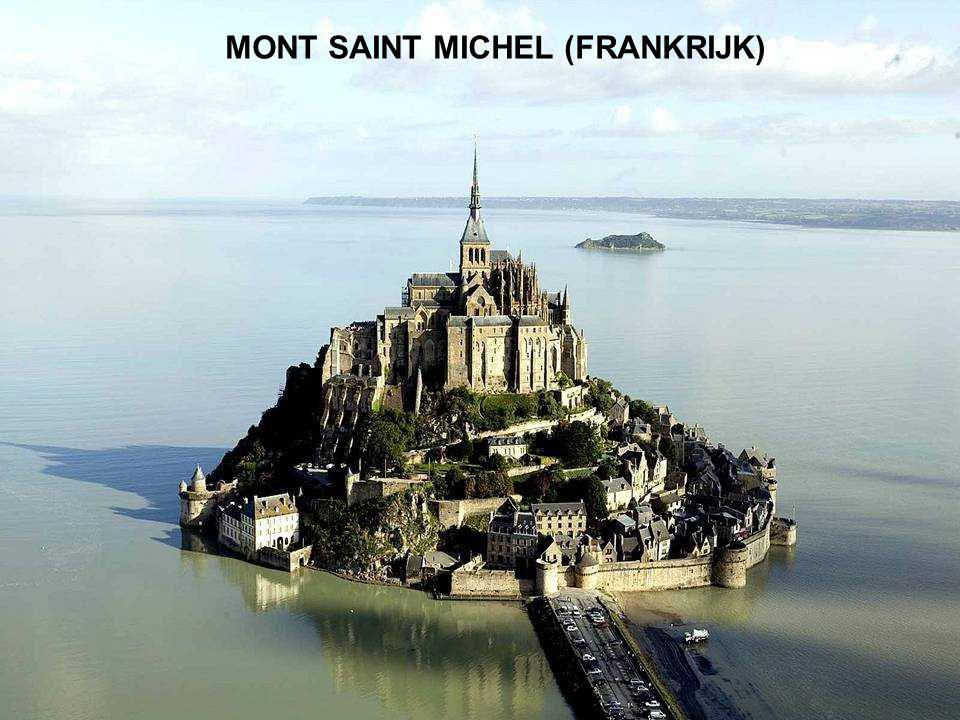 MONT SAINT MICHEL (FRANCIA) MONT SAINT MICHEL (FRANKRIJK)