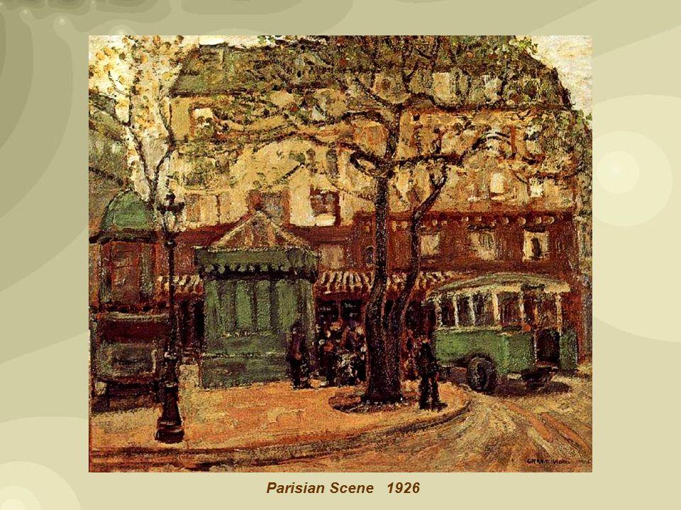 1926 Parisian Scene
