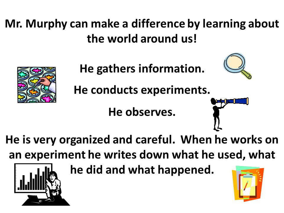 What is Mr. Murphy?