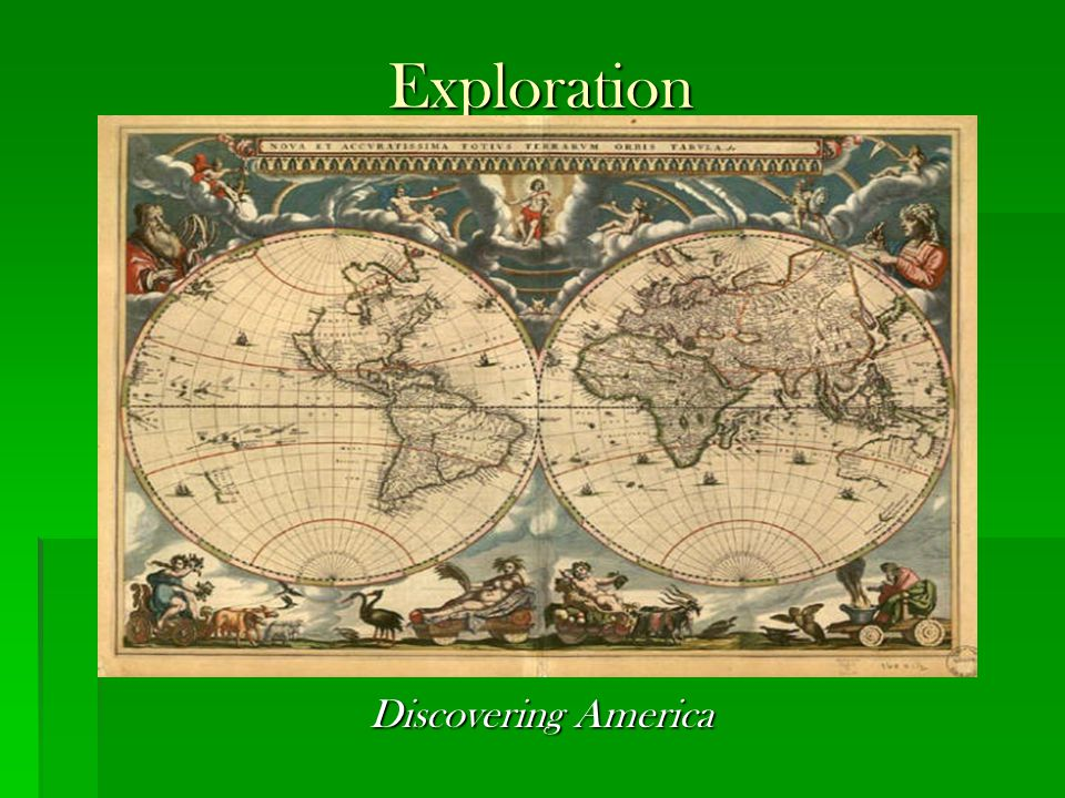 Exploration Discovering America