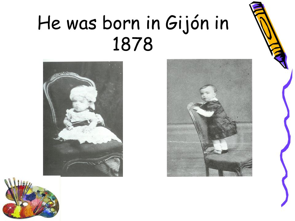He was born in Gijón in 1878