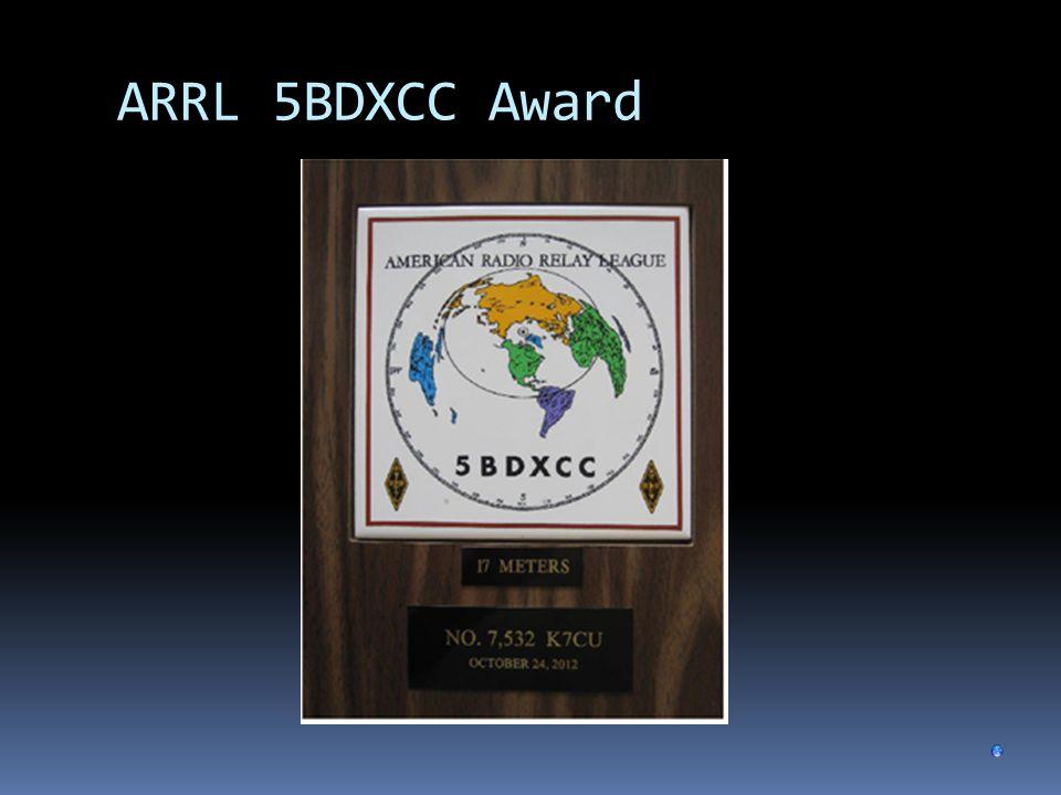ARRL 5BDXCC Award