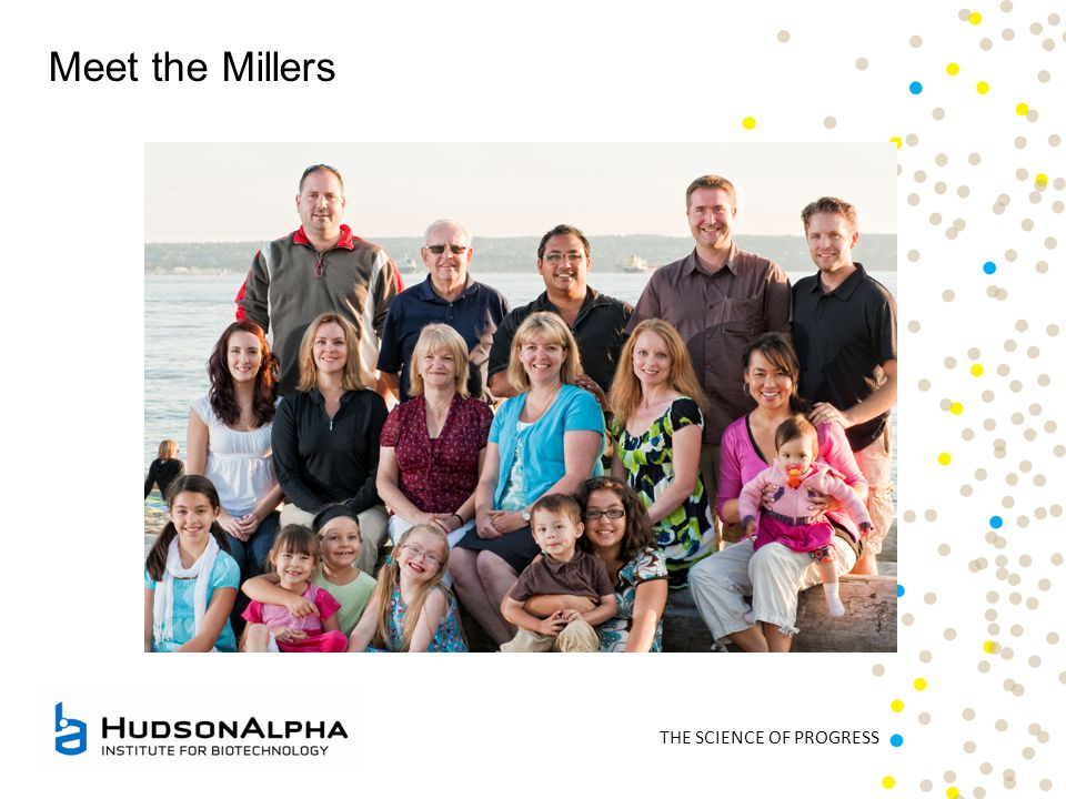 THE SCIENCE OF PROGRESS Meet the Millers