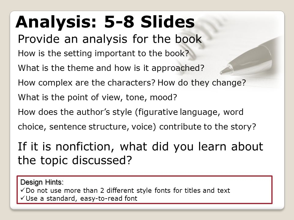 Provide an analysis for the book How is the setting important to the book.