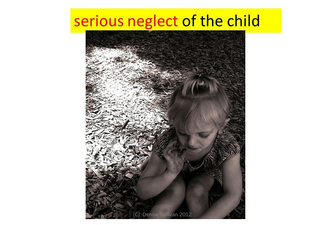 serious neglect of the child (C) Denise Sullivan 2012