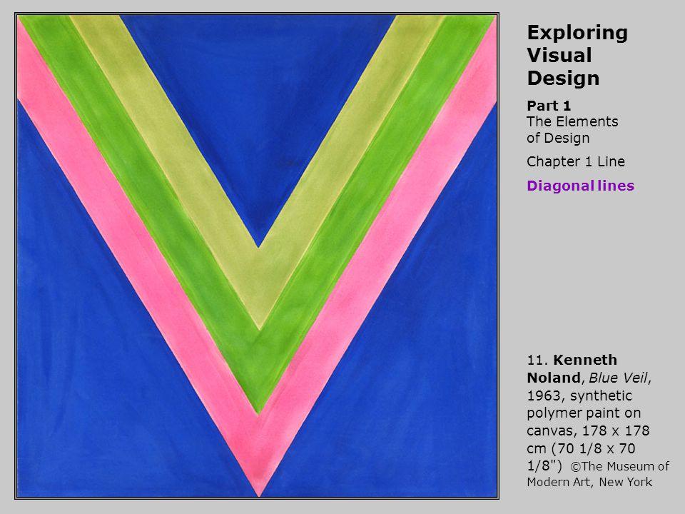 Exploring Visual Design Part 1 The Elements of Design Chapter 1 Line Diagonal lines 11.