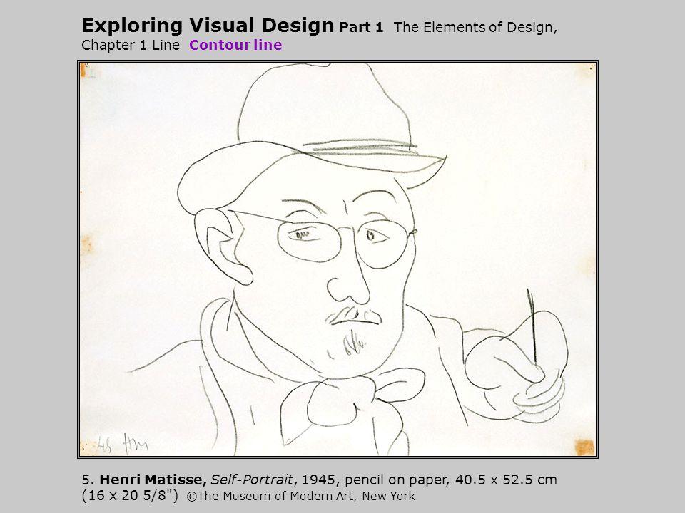 Exploring Visual Design Part 1 The Elements of Design, Chapter 1 Line Contour line 5.