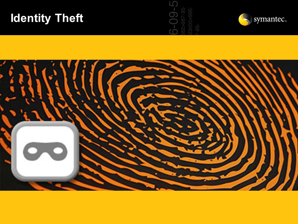 Identity theft is a two-step process.–First, someone steals your personal information.