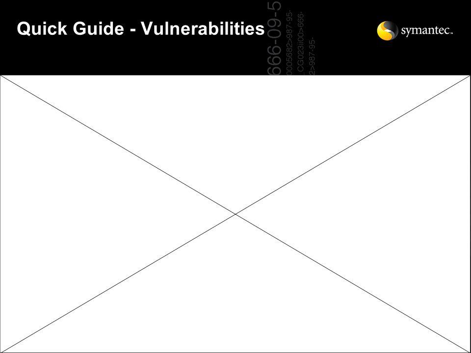 Quick Guide - Vulnerabilities