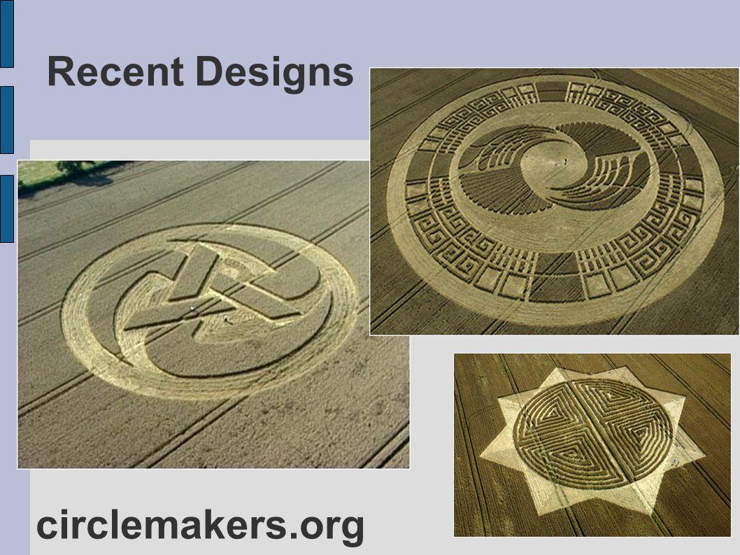 Recent Designs circlemakers.org