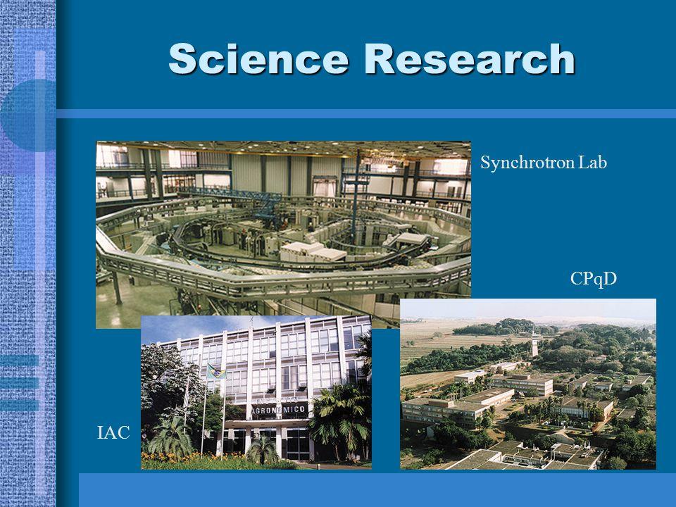 Science Research Synchrotron Lab CPqD IAC