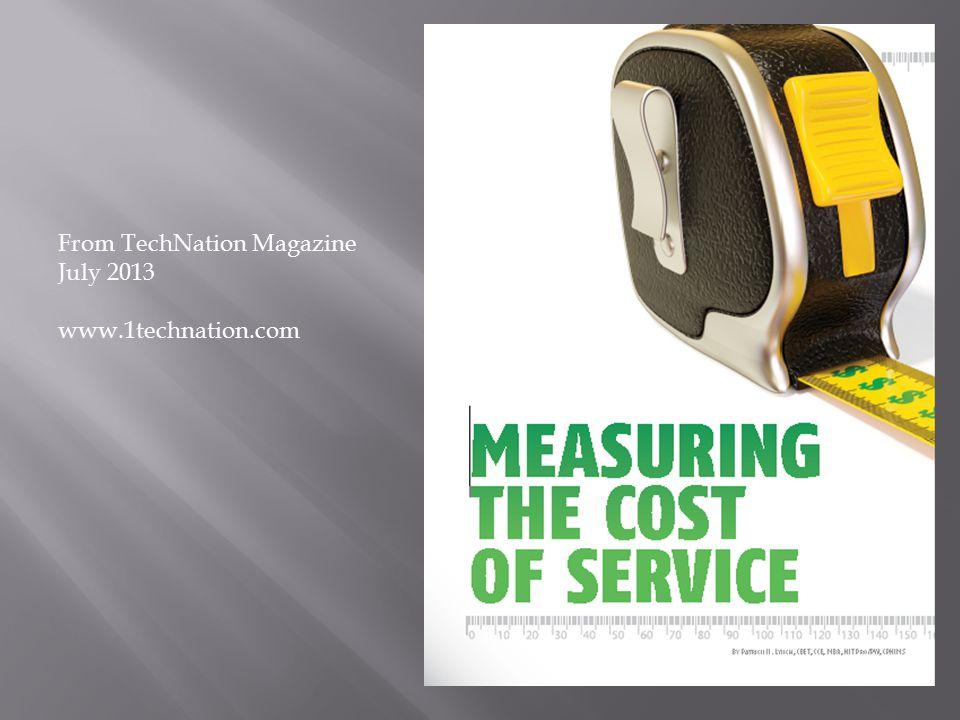 From TechNation Magazine July 2013 www.1technation.com