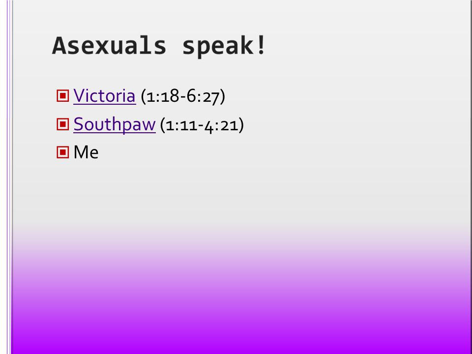 Victoria (1:18-6:27) Victoria Southpaw (1:11-4:21) Southpaw Me