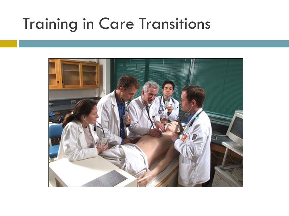 Training in Care Transitions
