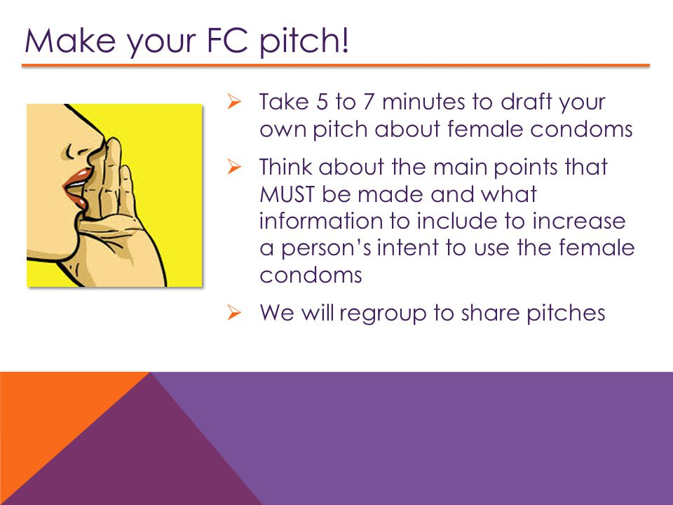 Make your FC pitch.