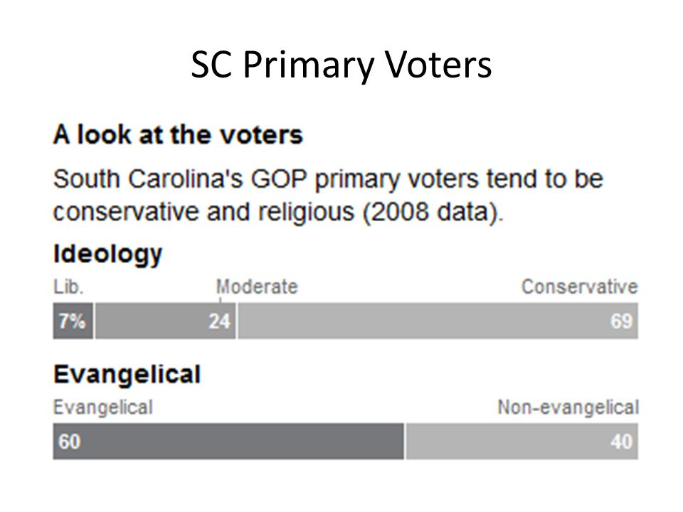 SC Primary Voters