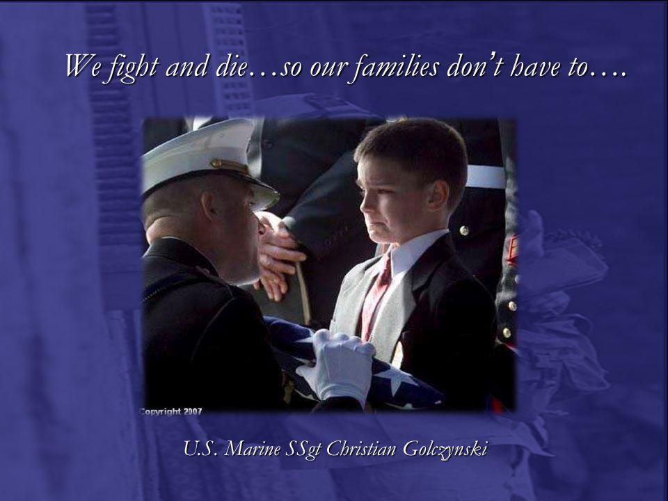 U.S. Marine SSgt Christian Golczynski
