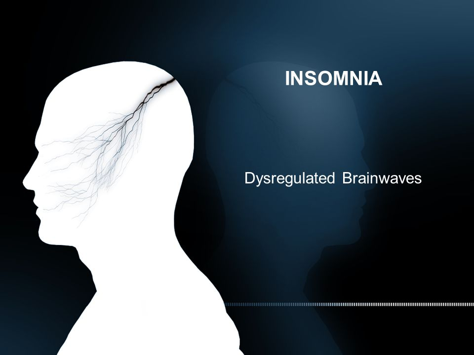 INSOMNIA Dysregulated Brainwaves