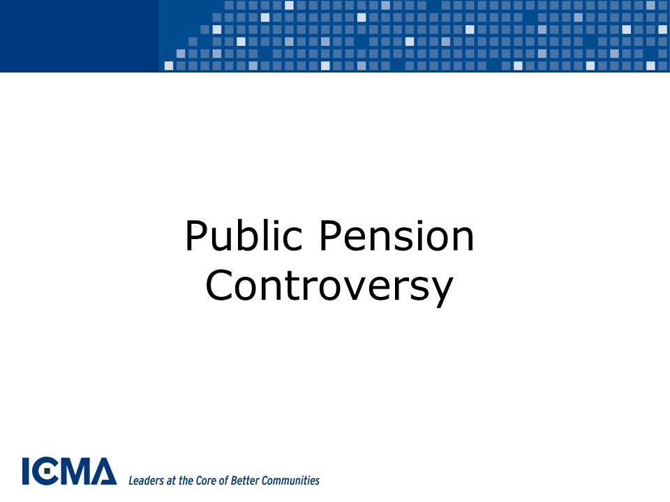 Public Pension Controversy