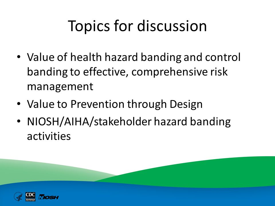Best way to manage occupational exposures to chemical agents is to eliminate the hazard or design out the risk Elimination Substitution Engineering controls