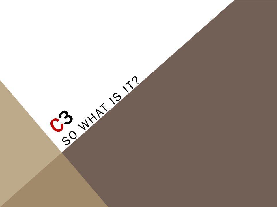 C3C3 SO WHAT IS IT?