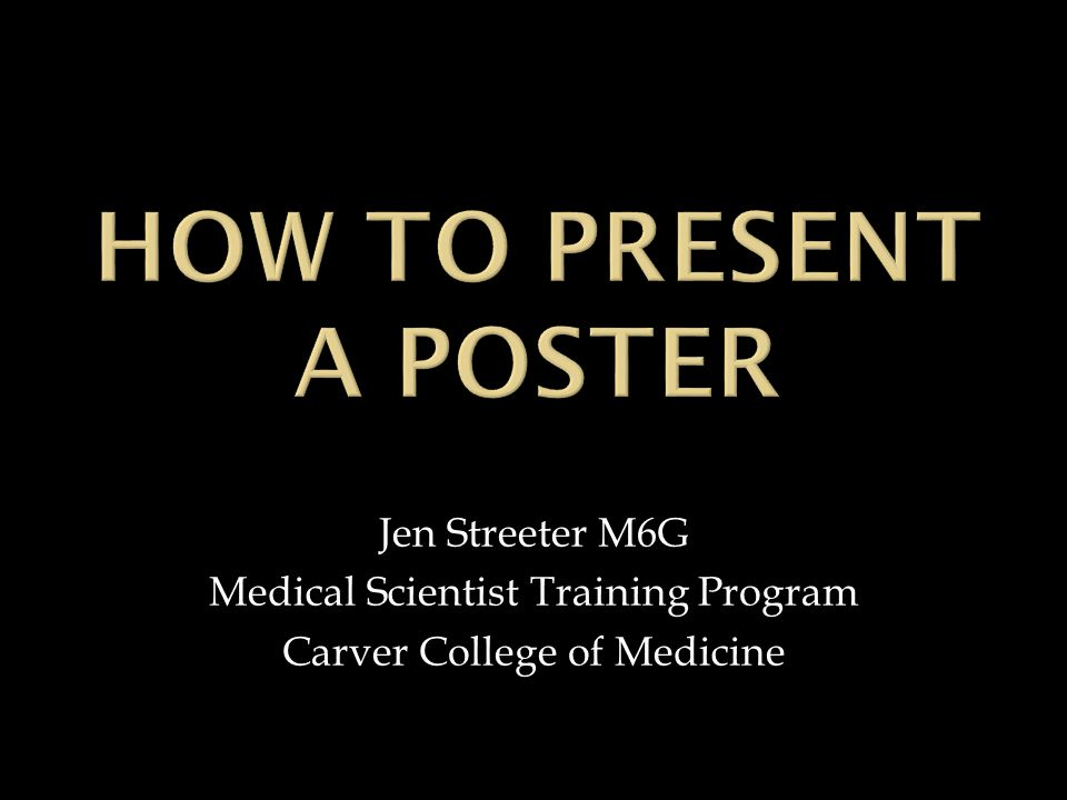 Jen Streeter M6G Medical Scientist Training Program Carver College of Medicine