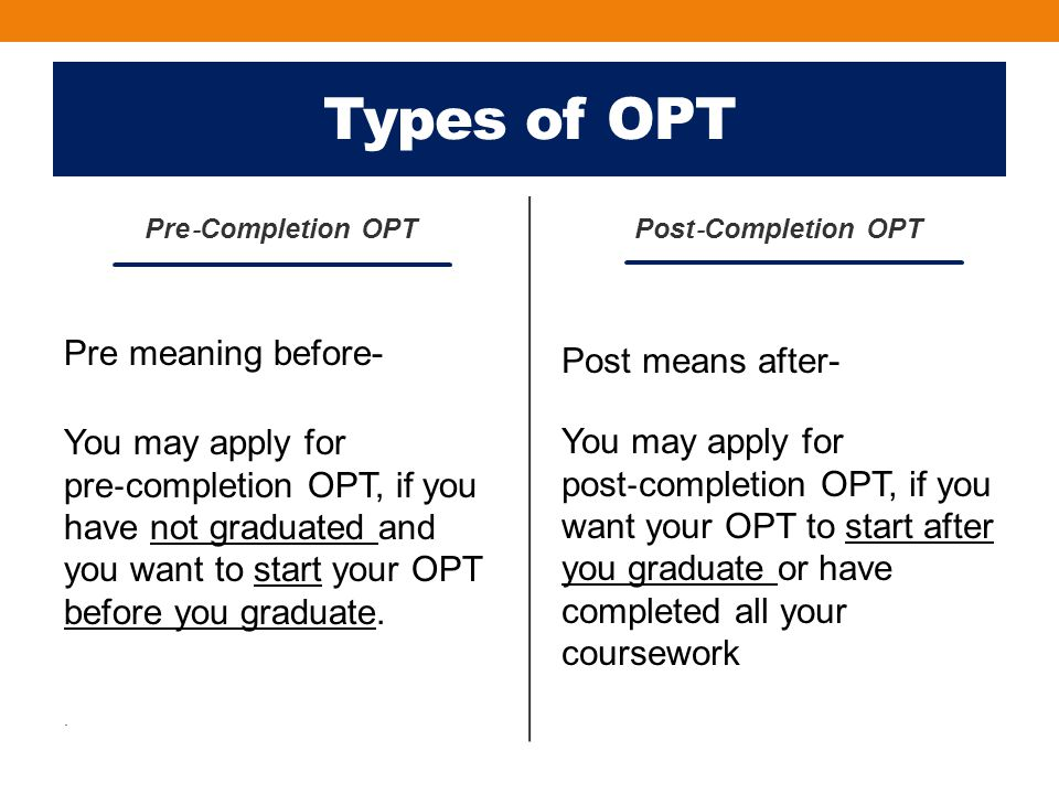 Travel on OPT cont.Students approved for post‐completion OPT continue to be in F‐1 status.