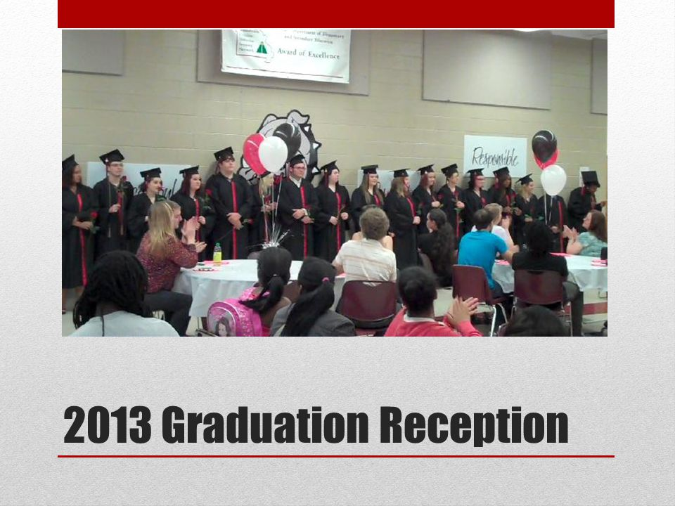 2013 Graduation Reception