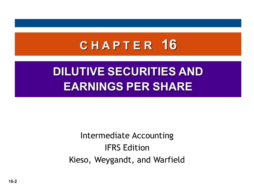 16-53 Earnings per share indicates the income earned by each ordinary share.