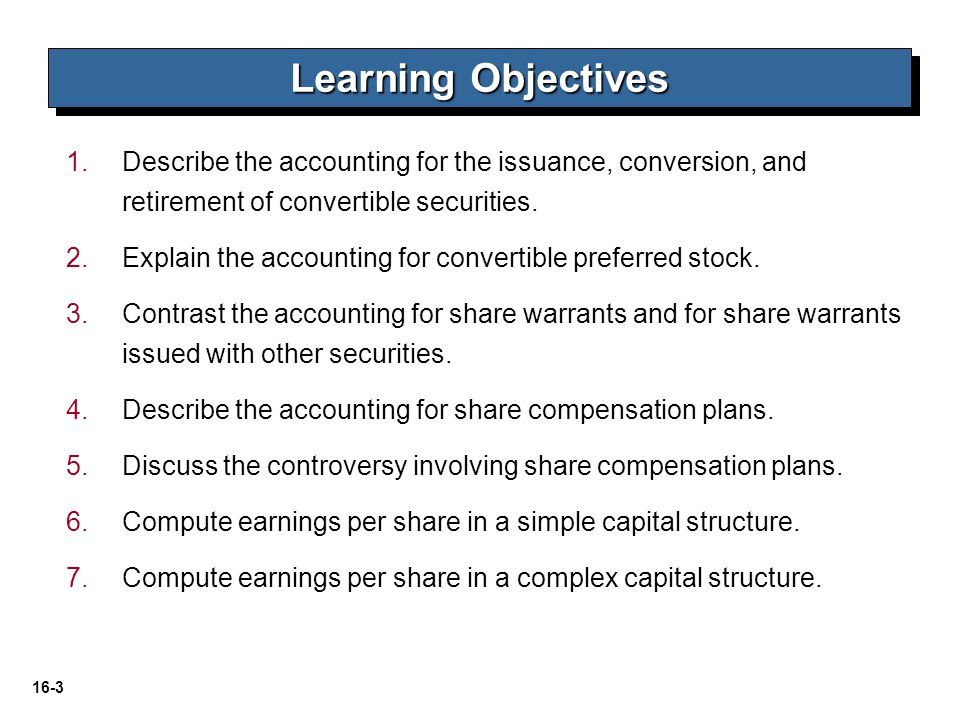 16-54 LO 6 Compute earnings per share in a simple capital structure.